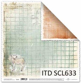 Бумага для скрапбукинга SCL633