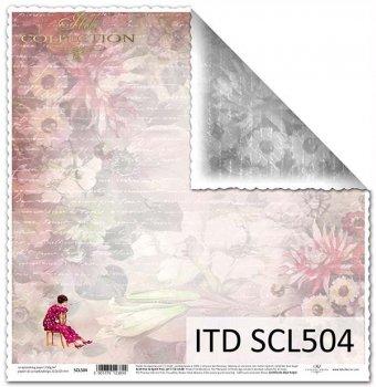 Бумага для скрапбукинга SCL504