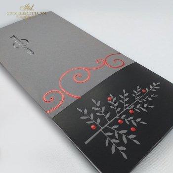Рождественская и Новогодняя открытка K640