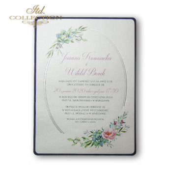 Свадебное приглашение 2074