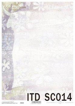 бумага для скрапбукинга SC0014