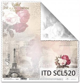 Бумага для скрапбукинга SCL520