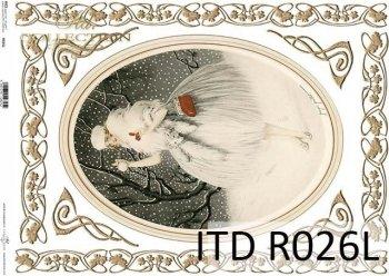 рисовая бумага для декупажа R0026L