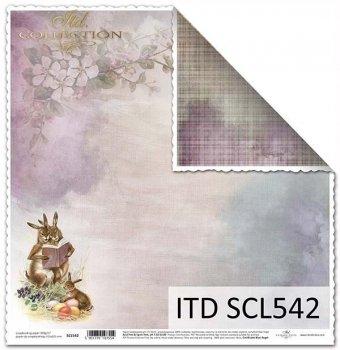Бумага для скрапбукинга SCL542