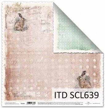 Бумага для скрапбукинга SCL639