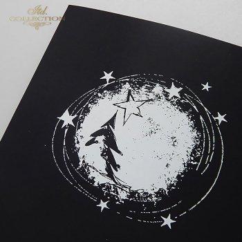 Рождественская и Новогодняя открытка K617