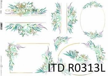 рисовая бумага для декупажа R0313L