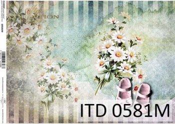 бумага для декупажа классическая D0581M