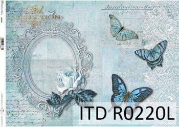 рисовая бумага для декупажа R0220L