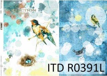 рисовая бумага для декупажа R0391L