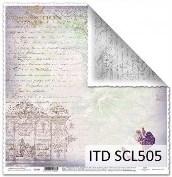 Бумага для скрапбукинга SCL505