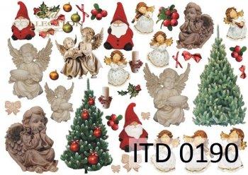Papier decoupage ITD D0190M