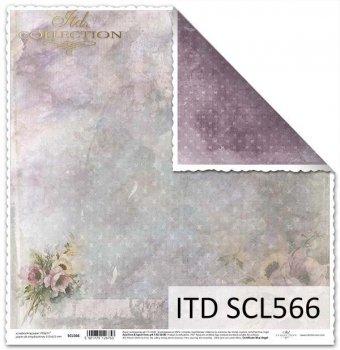Бумага для скрапбукинга SCL566