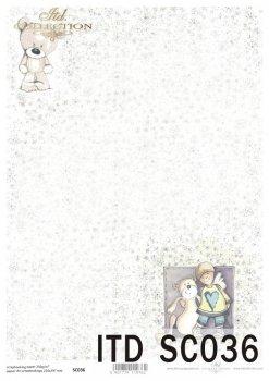 бумага для скрапбукинга SC0036