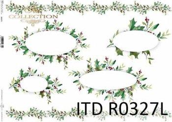 рисовая бумага для декупажа R0327L