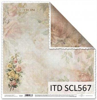 Бумага для скрапбукинга SCL567