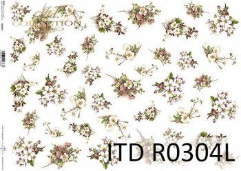 рисовая бумага для декупажа R0304L