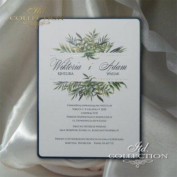Einladungskarten / Hochzeitskarte 2068