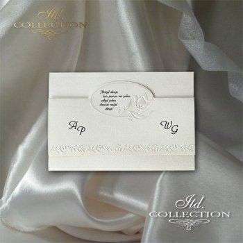 Einladungskarten / Hochzeitskarte 2050
