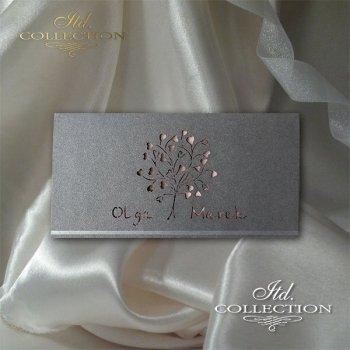 Einladungskarten / Hochzeitskarte 2037