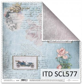 Papier für Scrapbooking SCL577