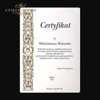Diplom DS0334 Universelles Zertifikat