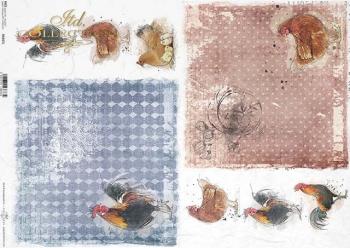 Reispapier A3 für Decoupage R0207L