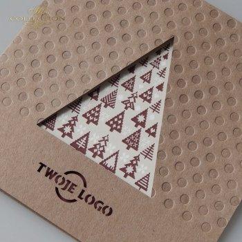 Weihnachtskarten für Unternehmen / Weihnachtskarte K605