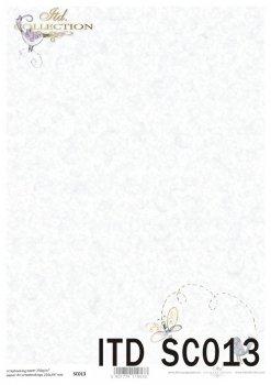 Papier für Scrapbooking SC0013