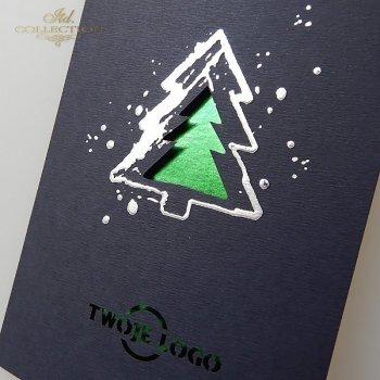 Weihnachtskarten für Unternehmen / Weihnachtskarte K603