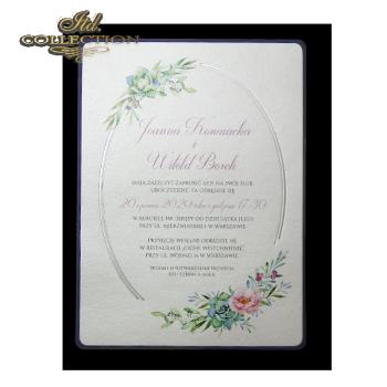 Einladungskarten / Hochzeitskarte 2074