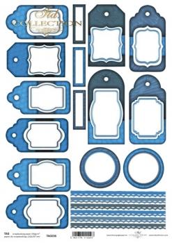 Frames für Scrapbooking TAG0036