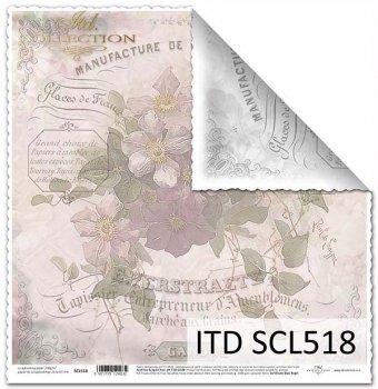 Papier für Scrapbooking SCL518