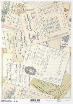 Reispapier für Serviettentechnik und Decoupage R1106