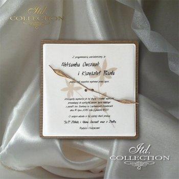 Einladungskarten / Hochzeitskarte 2049
