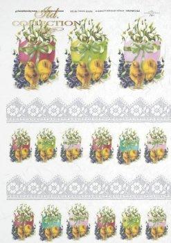 Reispapier für Serviettentechnik und Decoupage R0304