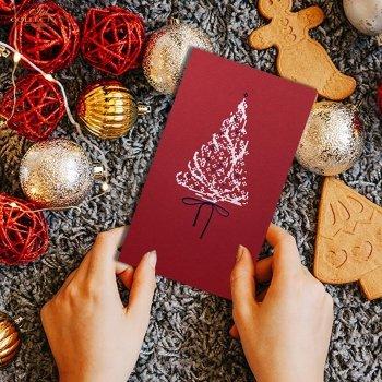 Weihnachtskarten für Unternehmen / Weihnachtskarte K593