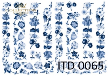 Papier für Serviettentechnik und Decoupage D0065