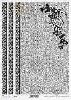 Reispapier für Serviettentechnik und Decoupage R0550