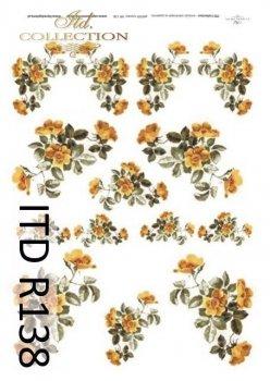 Reispapier für Serviettentechnik und Decoupage R0138