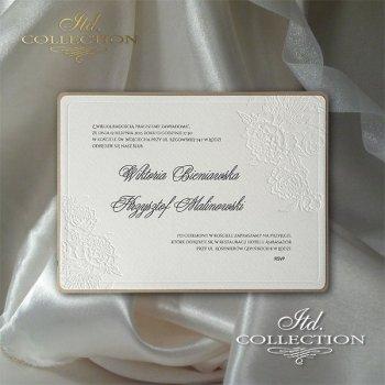 Einladungskarten / Hochzeitskarte 2046