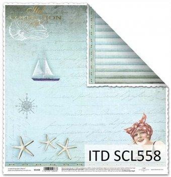 Papier für Scrapbooking SCL558