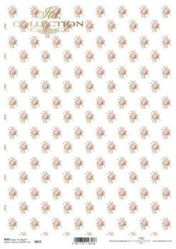 Reispapier für Serviettentechnik und Decoupage R0623