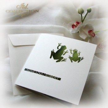 Einladungskarten / Hochzeitskarte 1731_50_Gras