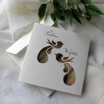 Einladungskarten / Hochzeitskarte 1731_49_Heideblume