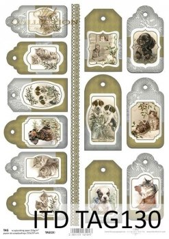 Tags, frames to scrapbooking TAG0130