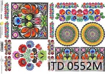 Decoupage paper ITD D0552M
