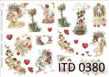 Decoupage paper ITD D0380