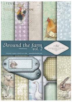 Scrapbooking papers SCRAP-036 ''around the farm vol.2''