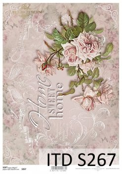 Decoupage paper Soft ITD S0267